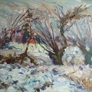 Pejzaż polski – zimowy, Jacek Kamiński
