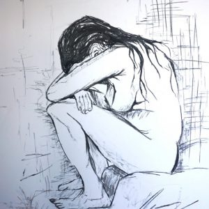 """Sorrow – Vincent van Gogh"", Anna Mularska"