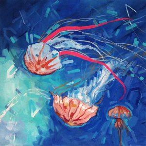 Meduzy niebieskie III