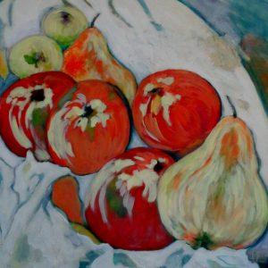 Martwa natura z owocami, Elżbieta Bieńko-Kornacka