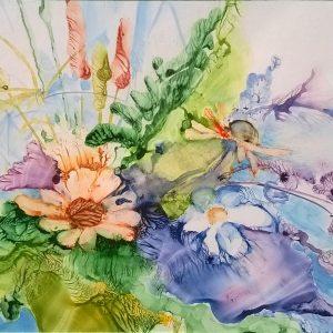 Bukiet kwiatów, Monika Bielat-Sobiczewska