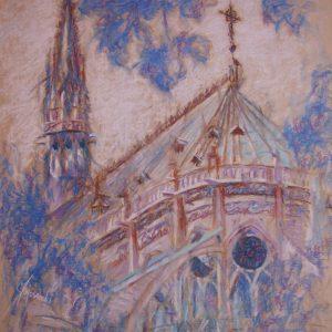 La cathedrale Notre-Dame de Paris II, Janusz Gajowiecki