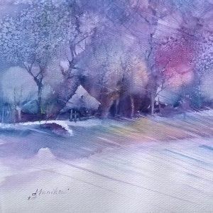 Zimowe prześwity, Monika Bielat-Sobiczewska